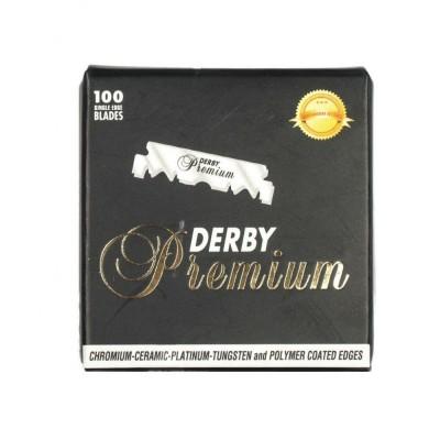 Derby 白金版 專業級 剃刀刀片 (100片盒裝)