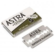 俄羅斯 ASTRA Superior Platinum 雙面安全刀片 (5片盒裝)