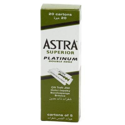 俄羅斯 ASTRA Superior Platinum 雙面安全刀片 (100片)