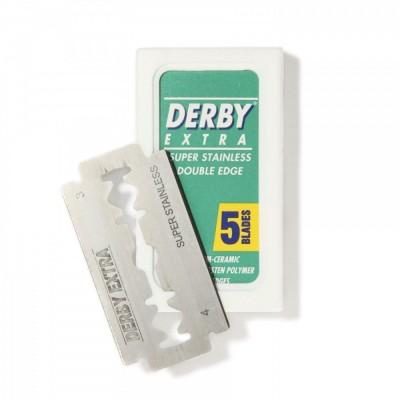 DERBY EXTRA 雙面安全刀片 (五片盒裝)