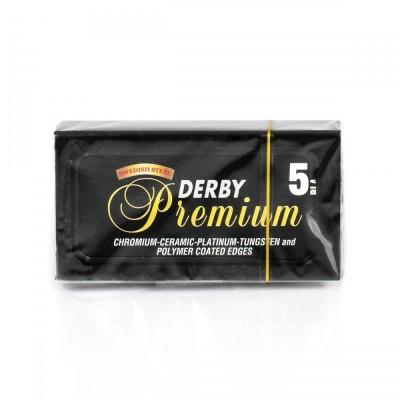 DERBY PREMIUM 雙面安全刀片 (5片盒裝)