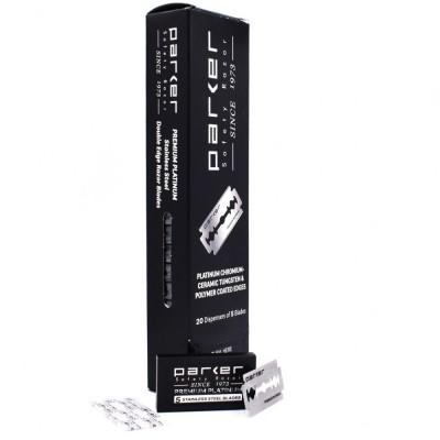 PARKER 高級白金鍍膜 雙面安全刀片 (大盒裝)