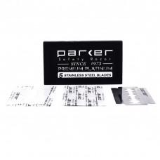 PARKER 高級白金鍍膜 雙面安全刀片 (五片盒裝)