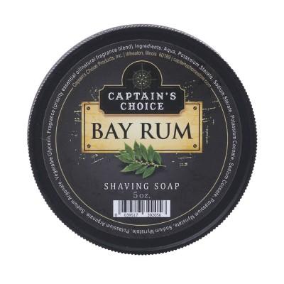 美國 Captain's Choice 刮鬍皂 (月桂蘭姆) Bay Rum