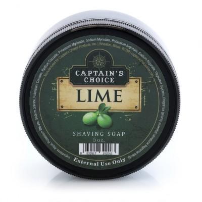 美國 Captain's Choice 刮鬍皂 萊姆 LIME