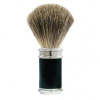 Edwin Jagger Black/Chrome Pure Badger 刮鬍刷 (純獾毛) 81SB8611