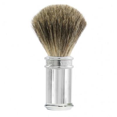 Edwin Jagger Chrome Lined Pure Badger Shaving Brush