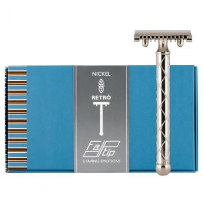 FATIP 42116 刮鬍刀 銀 (復古手柄)