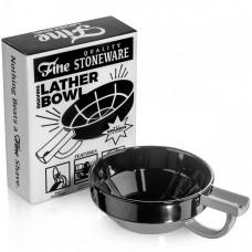 美國 Fine Classic Shaving 專業刮鬍皂碗 (黑灰)