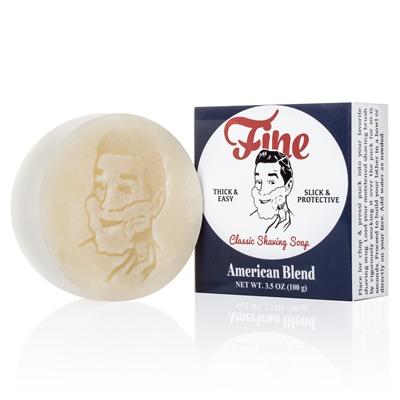 美國 Fine Classic Shaving 三重研磨 刮鬍皂 (經典美式)