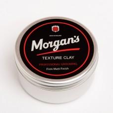 Morgans 強力線條 泥土髮蠟