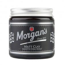 Morgans 蓬鬆塑型髮泥 (白金新款)
