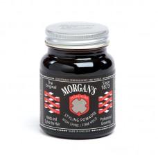 Morgans 水洗髮油 高亮度強力定型 (黑標)