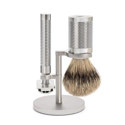 MÜHLE ROCCA R94 刮鬍刀套組 (不鏽鋼材質)