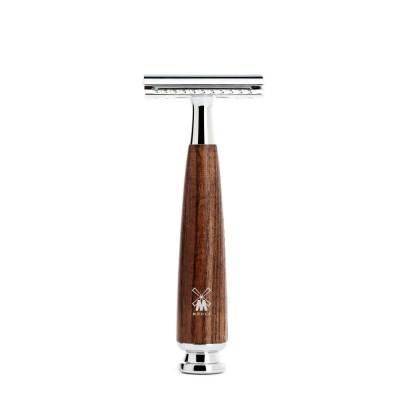 德國 MÜHLE RYTMO 刮鬍刀 (煙燻木)