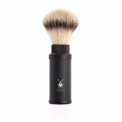 MÜHLE Travel Brush 31M536 鋁黑 旅行刮鬍刷 (合成纖維)