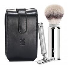 MÜHLE R89 刮鬍刀 RT3SR 旅行套組 (黑)