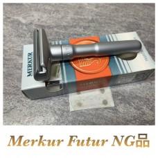 [NG商品] Merkur Futur 刮鬍刀 (霧銀)