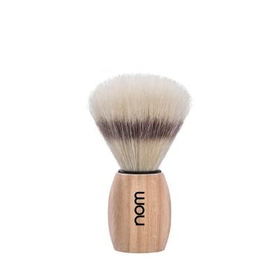 瑞典 nom OLE 刮鬍刷 (白蠟木)