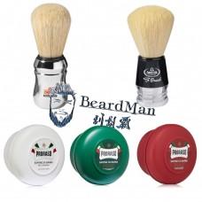 精選組 – Proraso 刮鬍皂 – Omega 刮鬍刷