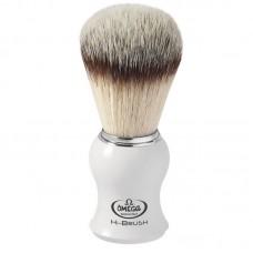 OMEGA 0146745 HI-BRUSH 刮鬍刷 白色ABS