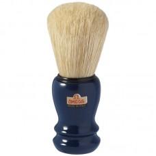 OMEGA 10108 刮鬍刷 (藍)