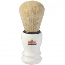 OMEGA 10108 刮鬍刷 (白)