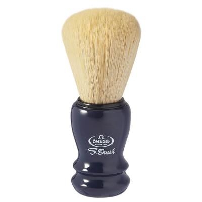 OMEGA S10108 S-Brush 刮鬍刷 合成纖維 藍