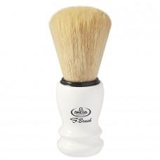 OMEGA S10108 S-Brush 刮鬍刷 合成纖維 (白)