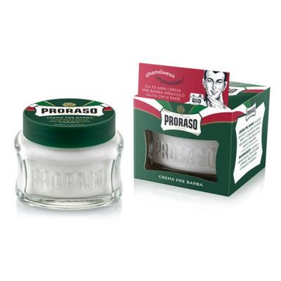 Proraso 鬍前軟化霜 (鬍前膏)  綠色 薄荷(100ml)