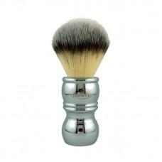 RazoRock Chrome Silvertip Plissoft Synthetic 刮鬍刷 (合成纖維)