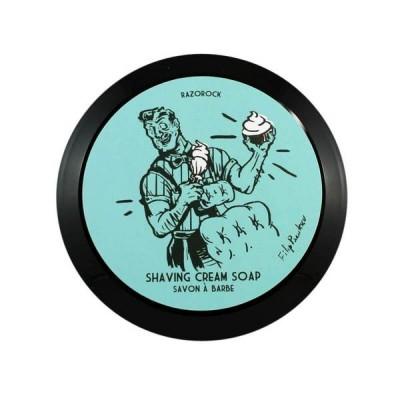 RazoRock Blue Barbershop 刮鬍膏 (湛藍修容店)