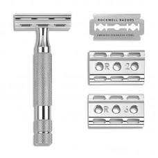 Rockwell 6C 刮鬍刀 (經典鉻銀)