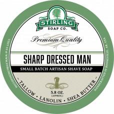STIRLING SOAP CO. 刮鬍皂 Sharp Dressed Man (真男人)