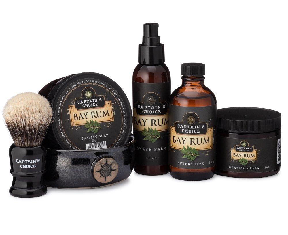 Captains Choice Shaving Soap Bay Rum