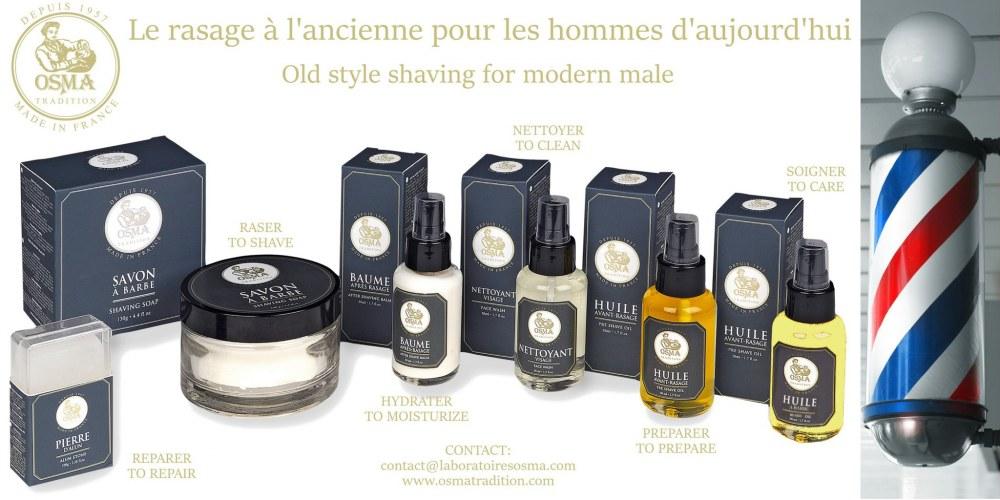 法國 Osma 刮鬍用品