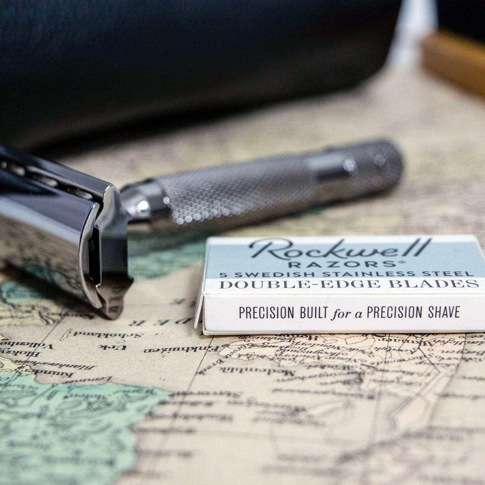 Rockwell 6C 刮鬍刀 (鉻銀)